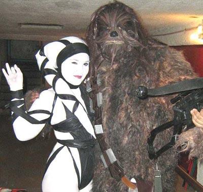 Lyn-Me y Chewie