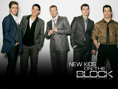 New Kids on the Block on air again!!!!!!!